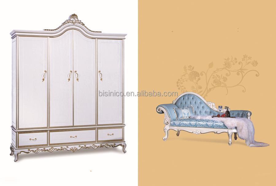 Luxe Slaapkamer Kast : Bisini meubels kledingkast koninklijke luxe deurs massief
