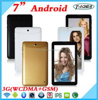 Leather Cover 7 Inch 3G Phone Tablet 3G With FM Bluetooth GPS,Smart Phone With Dual Sim