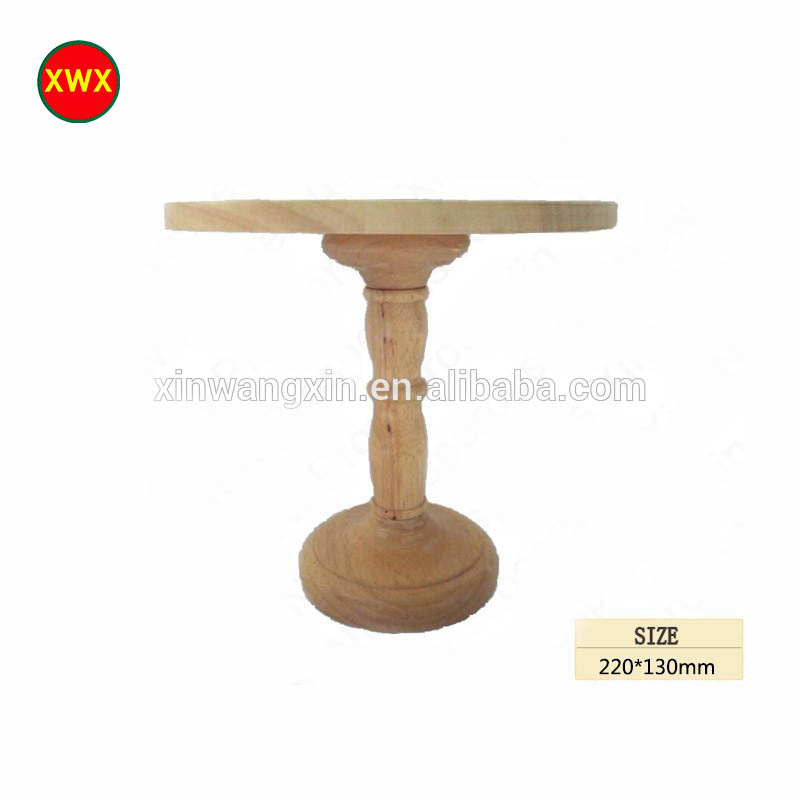 Various Styles Stable Quality Wooden Cake Stand
