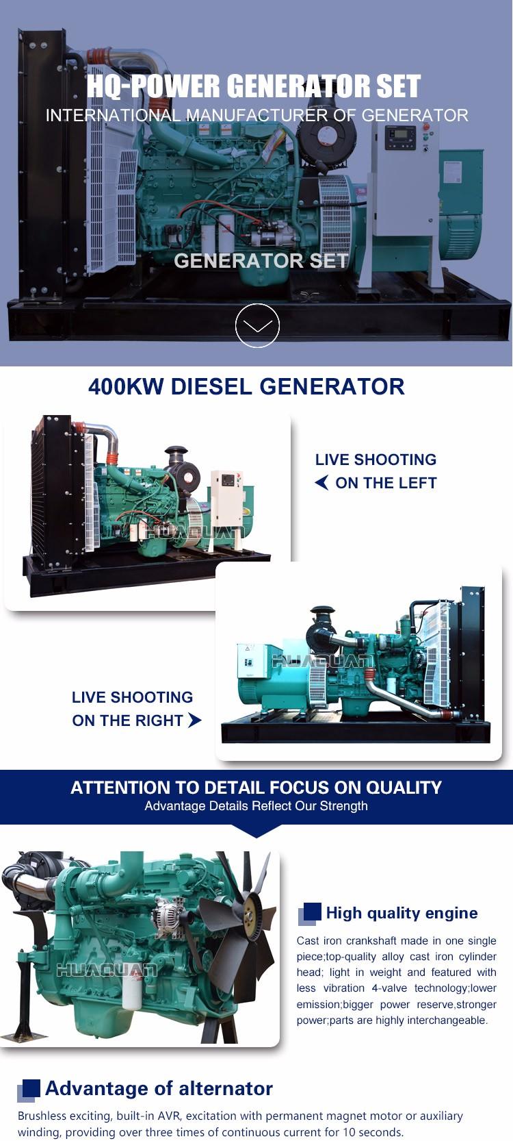 400kw 3 Phase Kirloskar Alternator India Price - Buy Kirloskar  Alternator,Generator India Price,3 Phase Generator Product on Alibaba com
