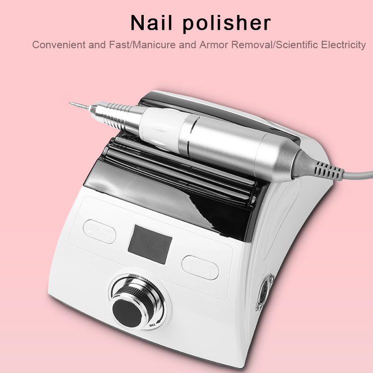 35000rpm Electric Nail Drill Nail File Machine with 6pcs Nail Drill Bits for Manicure and Pedicure