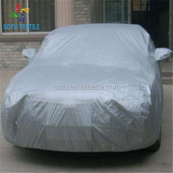 100% polyester 210d waterdichte oxford stof voor auto cover