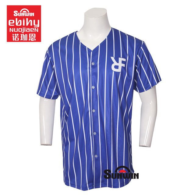 2018 Wholesale Plain Billig Sublimated Custom Baseball Jersey