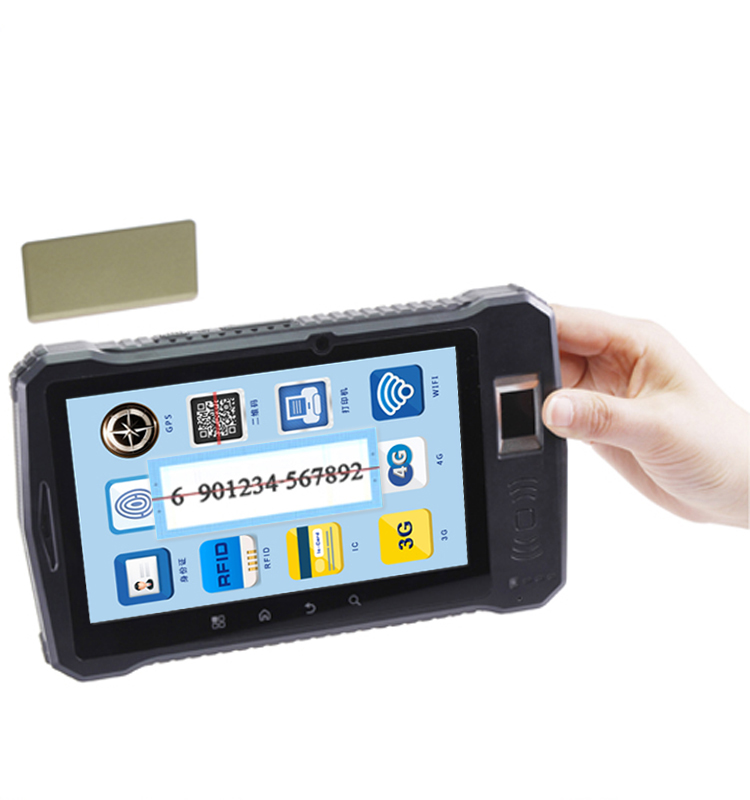 Industrial 4g Lte Android Portable Bluetooth M1 / Cpu Business ...