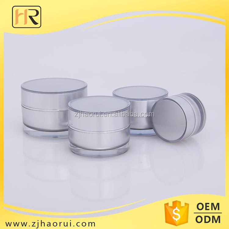 Free Sample Wholesale Cosmetic Jars 30g 50g Acrylic Cream Jar