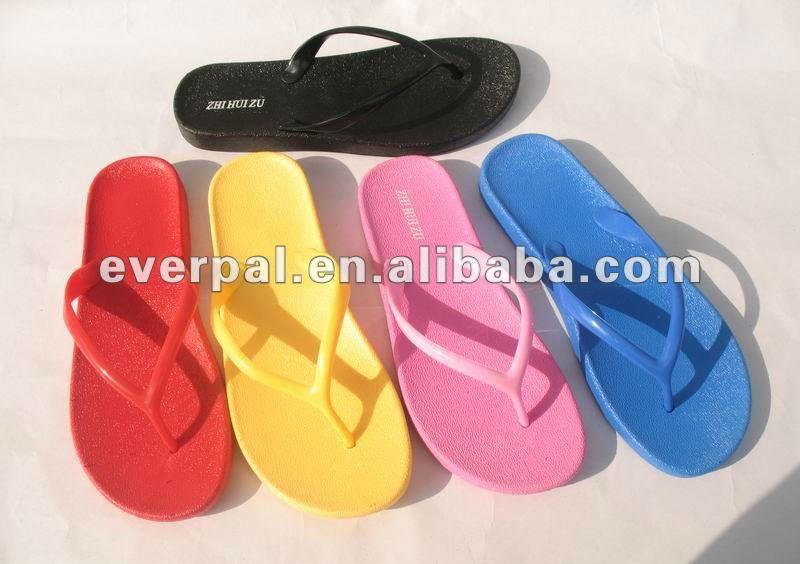 2017 Comfortable Whole Women Bathroom Slippers Blank Flip Flops Bed