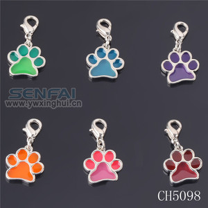 New Technique Paw Print Charms for Jewelry Making