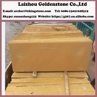 Tiles Yellow sandstone pave stone