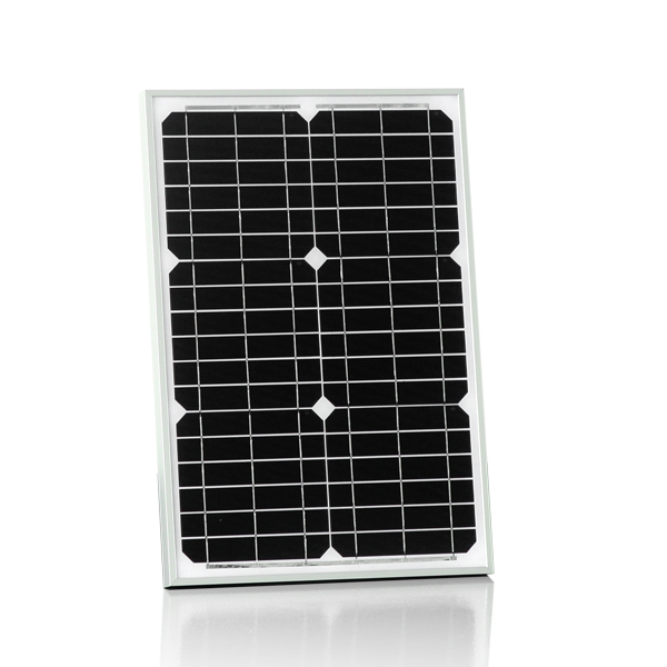 30W18v mono panels solar kit for 12v LED street flash light, laptop, mobile phone