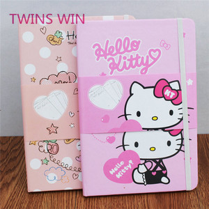 Italy new stationery products wholesale cheap fashion Cartoon characters design a4 kraft paper notebooks 1075