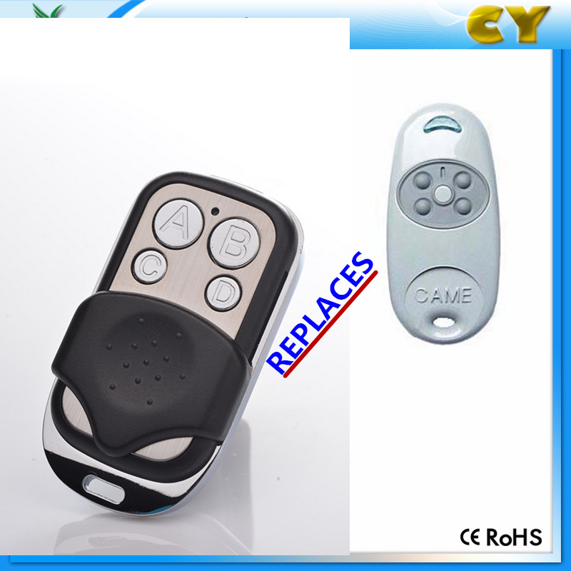 Yaoertai 4 Channel 433mhz rf Universal Garage Door Remote Control Duplicate Came Key