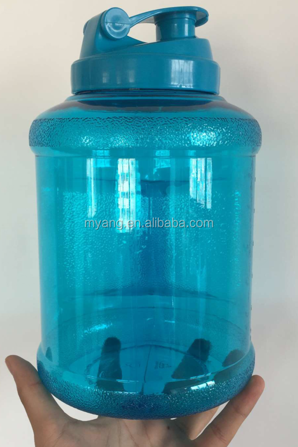 HOT SALE 2.2L 2.5 Gallon Water Bottle Plastic Water Jug, Big BPA Free shaker jugfor Gym / Approx 0.7 Gallons
