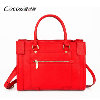 New Style Fashion Leather Bag Milleni Handbag Cross Body Red Dressy