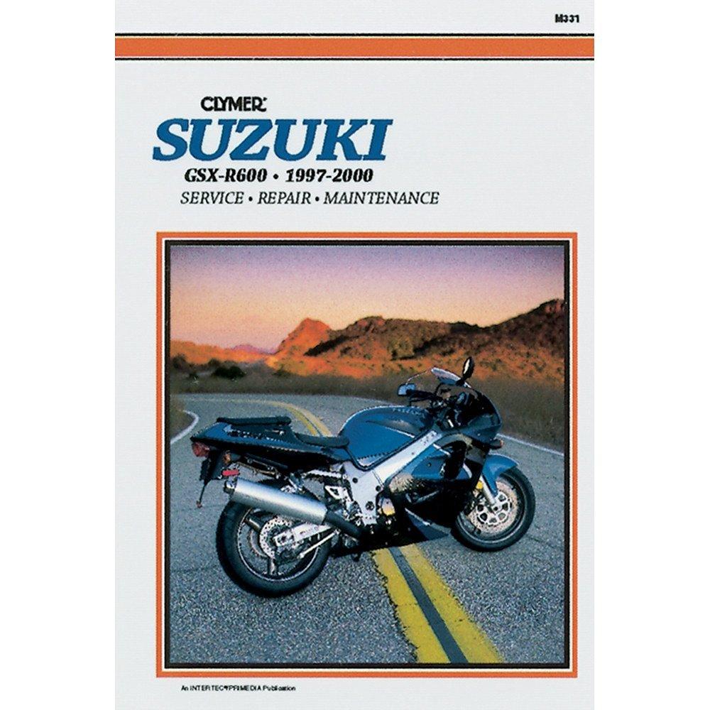 1997-2000 Suzuki GSX-R600 CLYMER MANUAL SUZUKI GSX-R600 97-00, Manufacturer: CLYMER, Manufacturer Part Number: M331-AD, Stock Photo - Actual parts may vary.