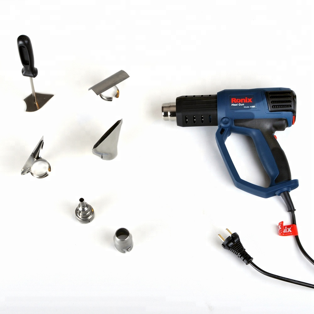 Ronix Model 1101 2000W Safety Heat Melt Glue Gun Temperture Adjustable Heat Gun