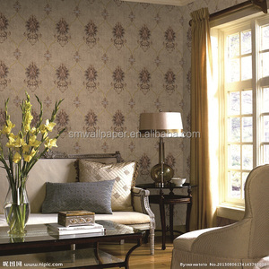 Italian design home decoration wallpaper 0.7*10m for European market