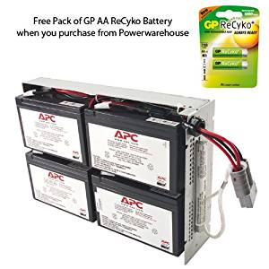 APC RBC23 Battery - Genuine APC RBC23 Cartridge #23 Maintenance-Free Lead Acid Battery