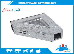 2016 NL1118 galvanized iron mice traps,galvanized iron mouse traps