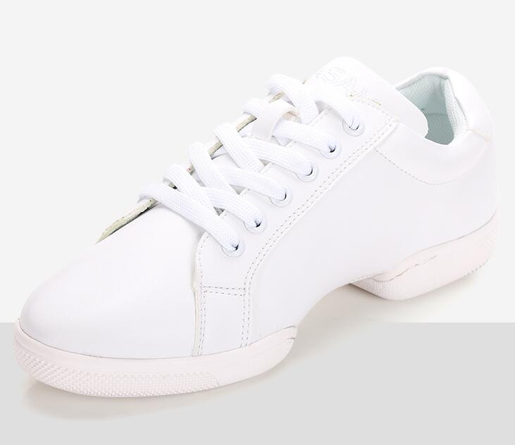 New White Split Sole Dance Sneaker 8603