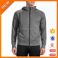 China manufacturer custom logo blank sportwear high collar hoodies high quality hoodies with thumb hole wholesale