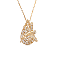 43443 xuping shopping online vogue top grade models gold filled pendant necklace Environmental Copper jewelry for women