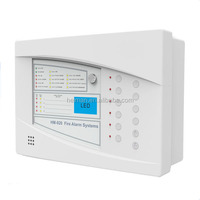 Heiman fire alarm system 4 zones conventional control panel of fire alarm