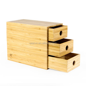Mini Wooden Collection Storage Cabinet/Box