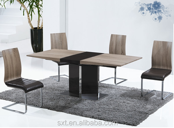 modern dining room furniture extendable design mdf dining table