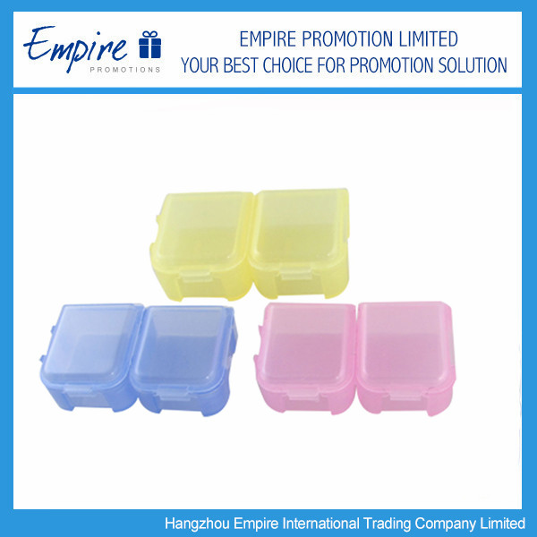 AM/PM Portable Mini One Day Pill Box For promotion
