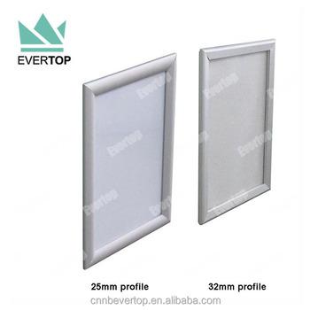 Ts-b02 Aluminium Square Mitred Corner Snap Frames,Metal Frames ...