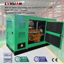 200KW Biogas Generator 12V135 engine open or mute with good Control System export to Russia