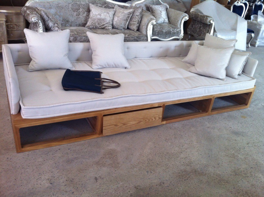 Zen Rohan couch bed old elm Chinese trio sofa couch sofa design models