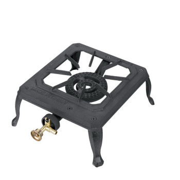 Heavy Duty Cast Iron Single burner/gas cooker /portable camping gas stove