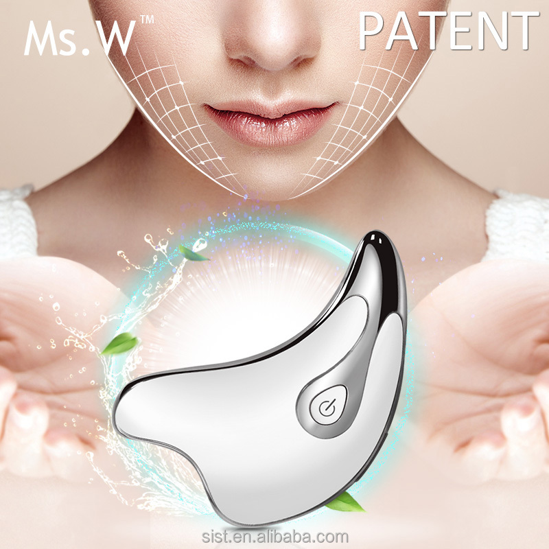 Multi-functional Home Use Handheld Ionic Face Lifting Machine/Ultrasonic Anti-aging Beauty Care Facial Massager