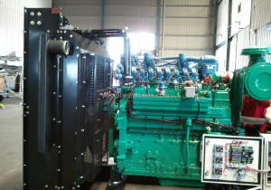 CPT700GF SPG12V190ZLDT machine manufacturer 700kw/950hp gas/diesel engine generator