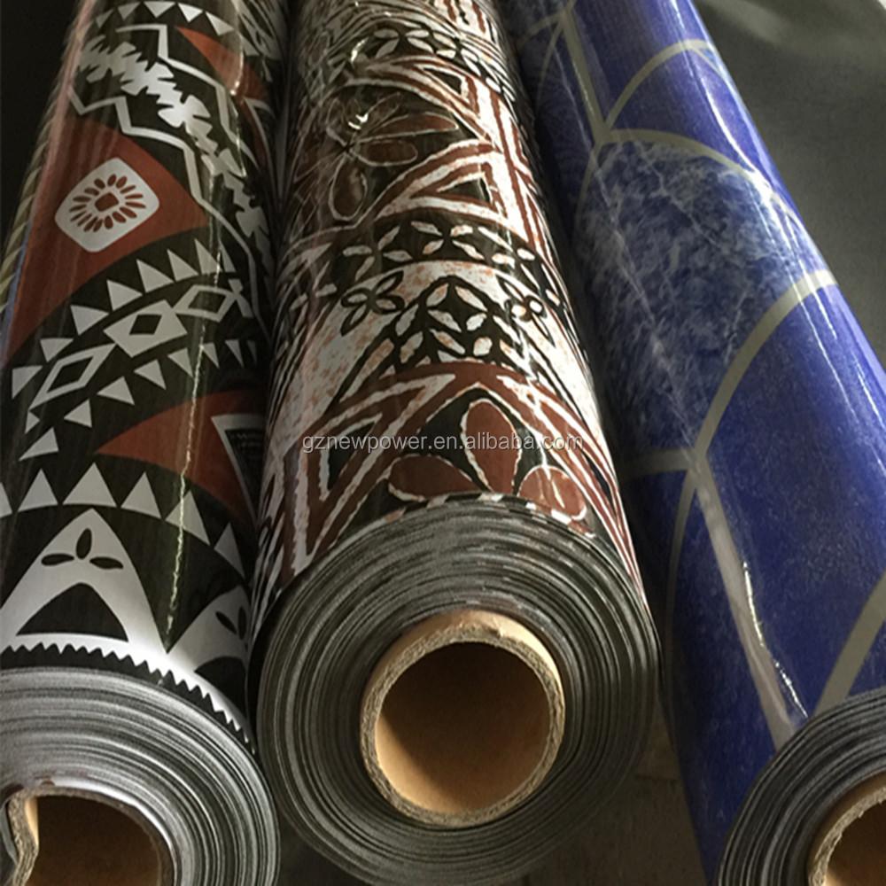 Commercial Linoleum Pvc Sponge Floor Covering Roll