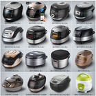 National deluxe rice cooker with non-stick coating inner pot electric multi-cooker , Smart Multi Rice Cooker At Home Appliances