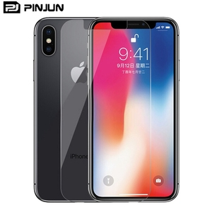 9H Premium anti-fingerprint tempered screen protector glass chinese for iphone x screen protector