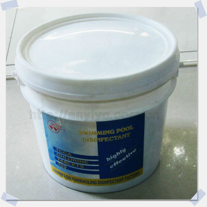 Swimming pool disinfectant/TCCA chlorine tablet
