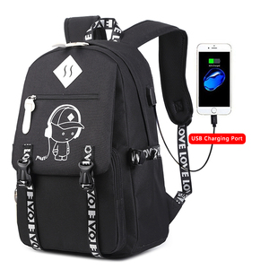 3ec414b0e5c8 9907 backpack factory wholesale hot sell new school laptop anti-theft  backpack with USB charging port