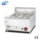 Factory wholesale price stainless steel electric counter top gas bain marie