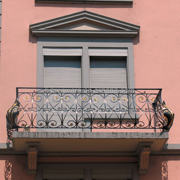 Iron grill design for balcony buy iron balcony railings for Balcony full grill design