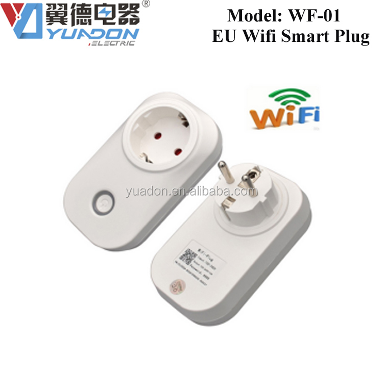 Remote Wifi Plug Power Controller EU Standard Smart timer Control by Android and IOS Mobile Phone SP3