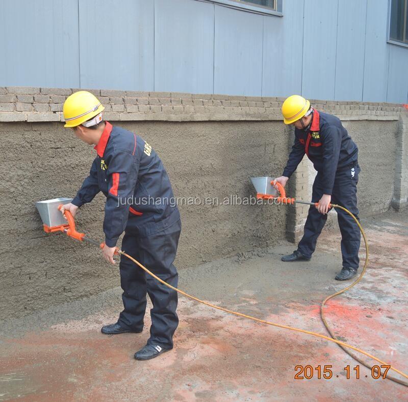 High Quality Air Stucco Sprayer Gun Cement Mortar Hopper