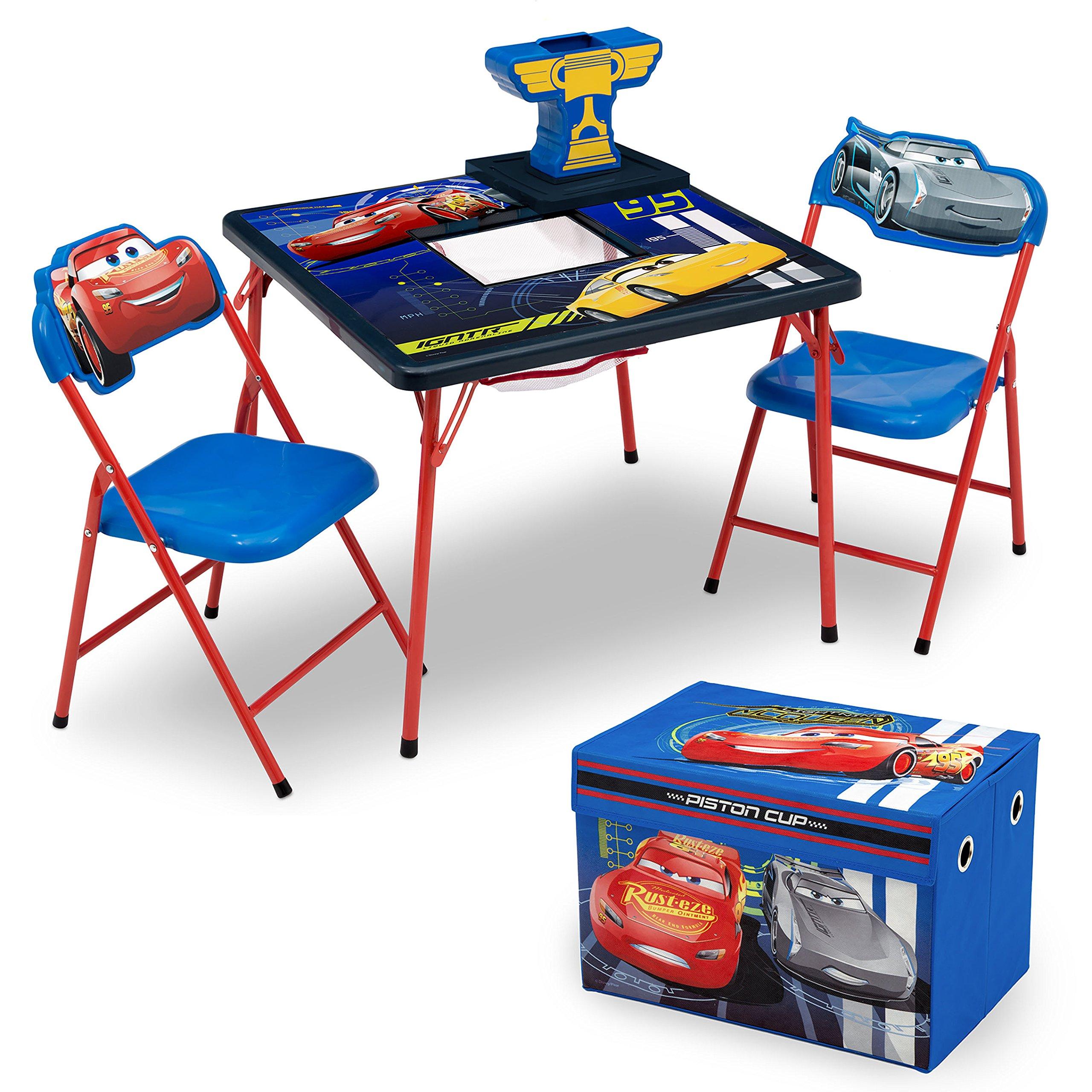 Pleasant Buy Delta Children Table And Chair Set With Storage Disney Frankydiablos Diy Chair Ideas Frankydiabloscom