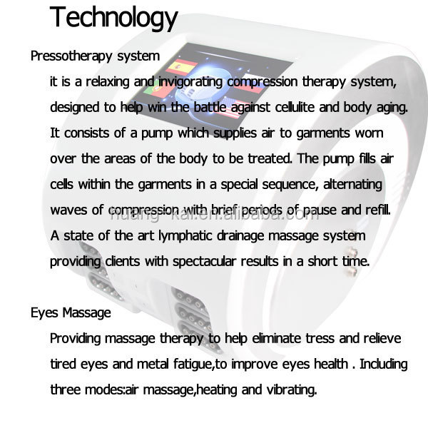 best selling products pressotherapy lymphatic drainage machine detox machine slimming machine