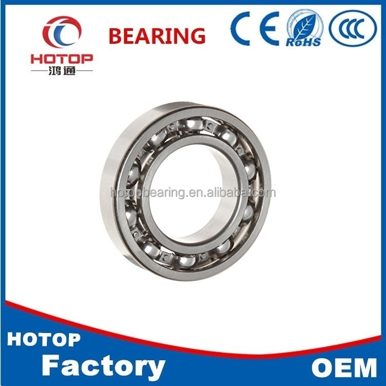 Factory cheap Price Single Row 6208 deep groove ball bearing