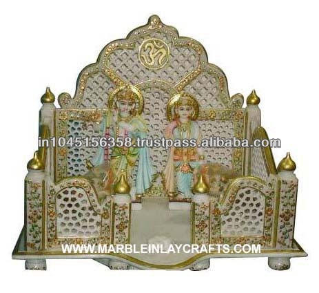 Marble Mandir Colorful Manufacture