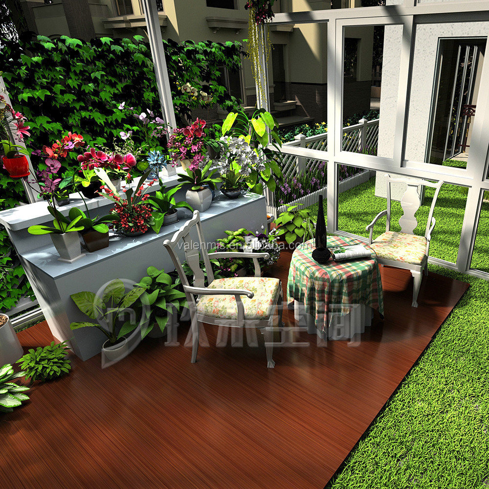 new added products outdoor garden aluminium glass sun room winter