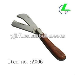 Double blades Pruning knife Budding Knife Grafting Knife